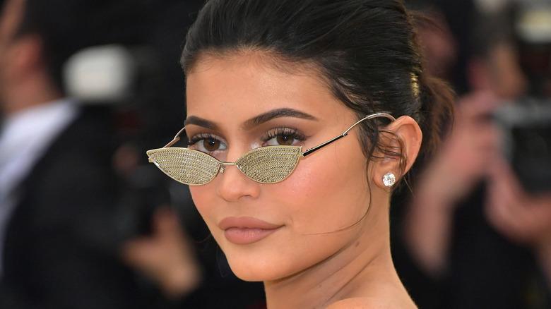 Kylie Jenner tiny sunglasses Met Gala 2018