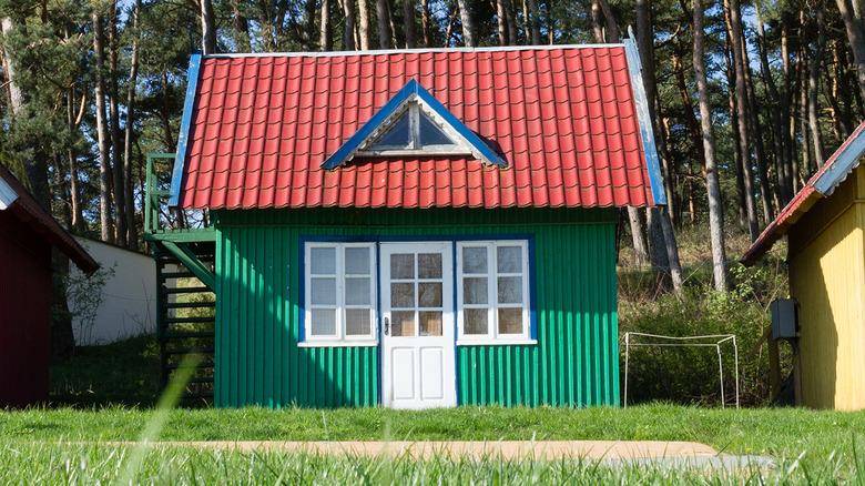 three tiny houses