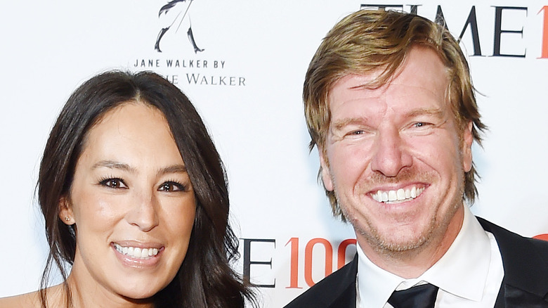 Chip and Joanna Gaines in 2019, close-up