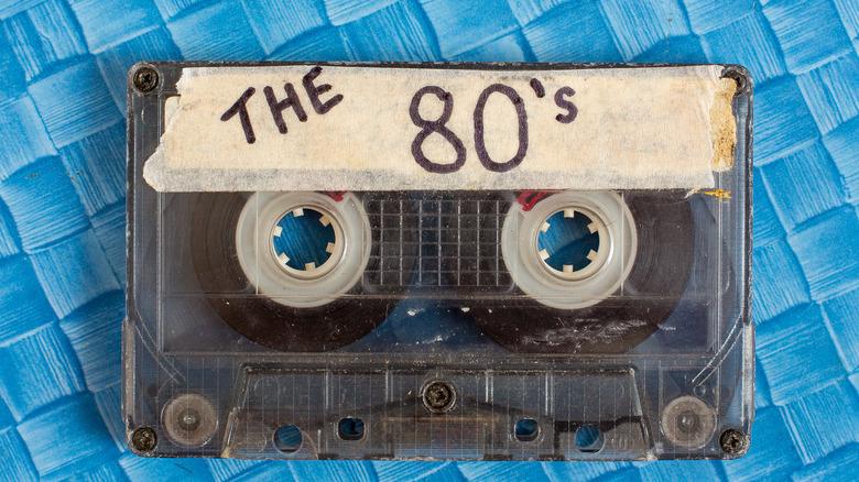 1980s cassette tape
