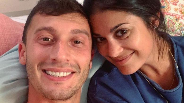 Alexei and Loren Brovarnik selfie