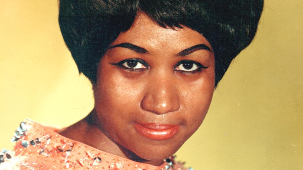 Aretha Franklin portrait