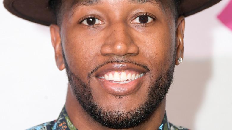 Darnell Ferguson smiles
