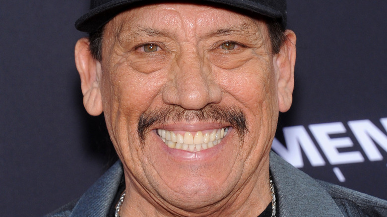 Danny Trejo grinning