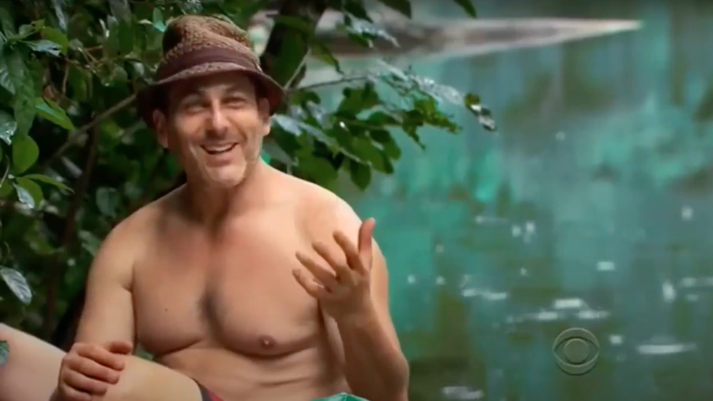 Jonathan Penner, Survivor: Philippines, smiling, wearing hat