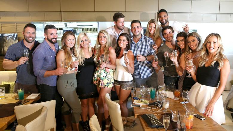 familiar cast members from past season of BIP reunite