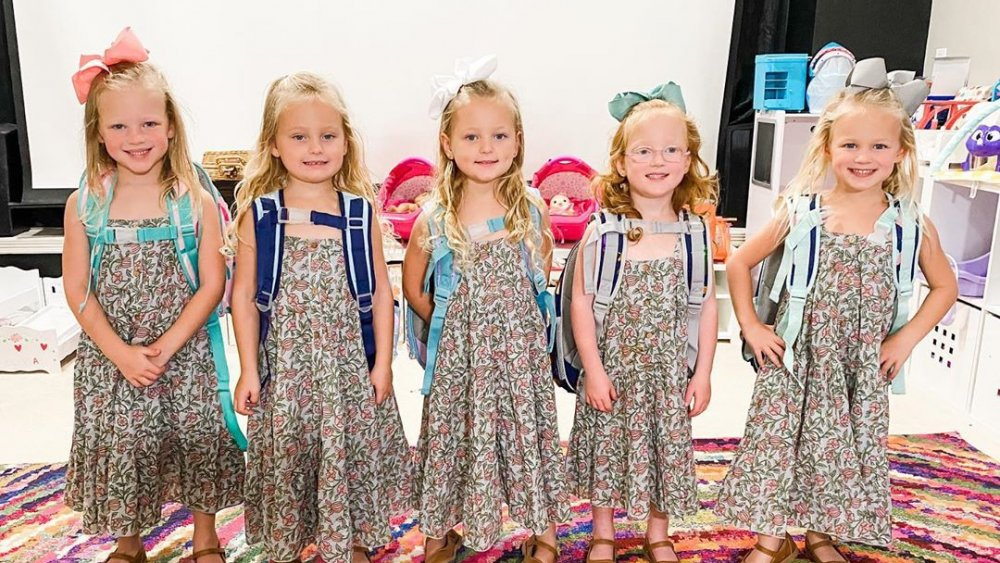 The Busby quints from OutDaughtered