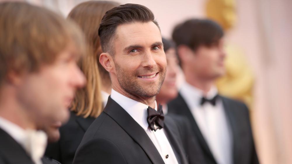 Adam Levine in tuxedo