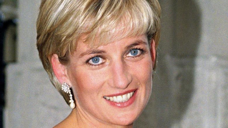 Princess Diana smiling