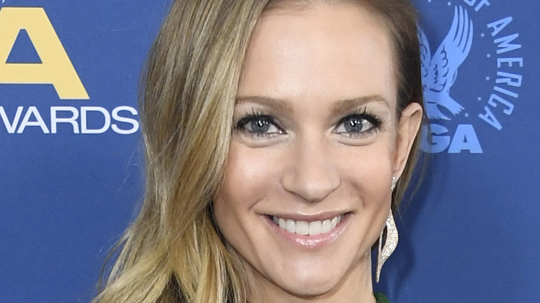 AJ Cook at event