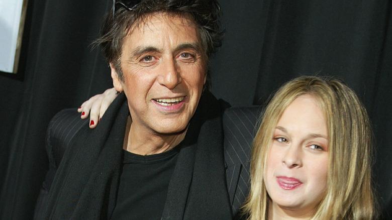 Al Pacino and daughter Julie