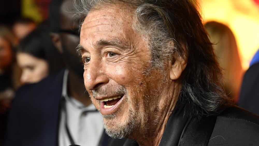 Al Pacino Golden Globes