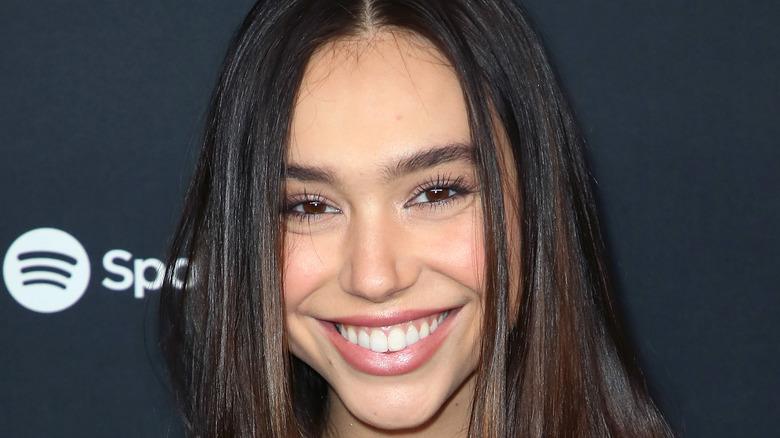 Alexis Ren smiling