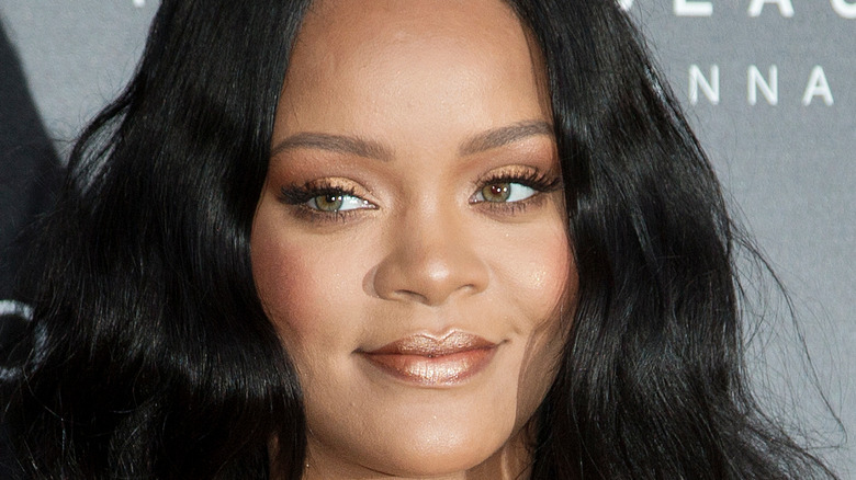 Rihanna at Fenty event