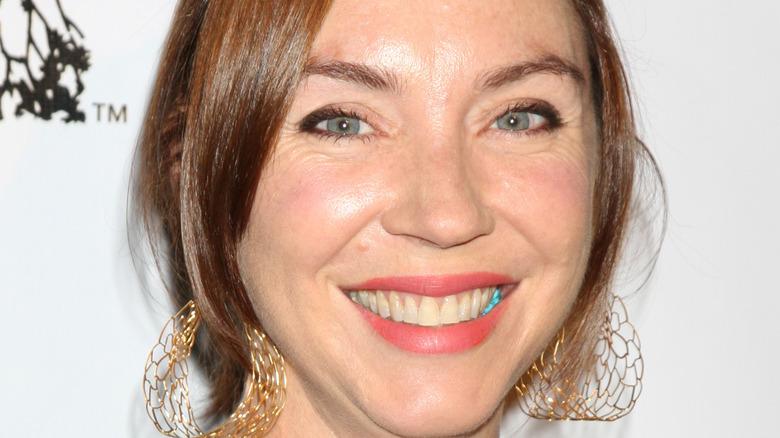 Stephanie Courtney smiling