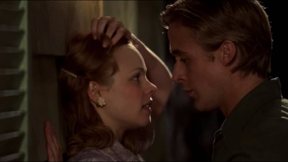 Allie and Noah fall in love in The Notebook