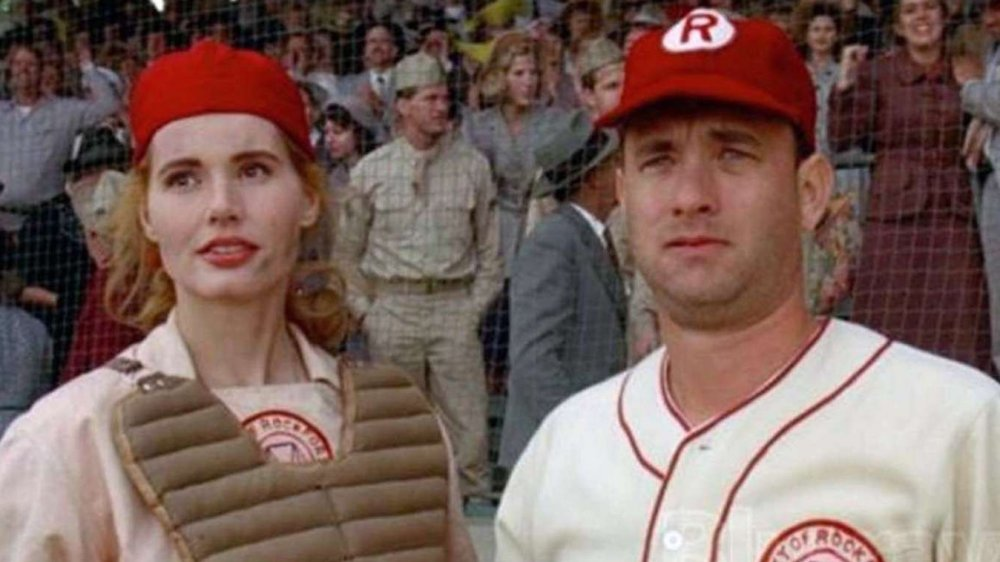 A League of Their Own Geena Davis and Tom Hanks