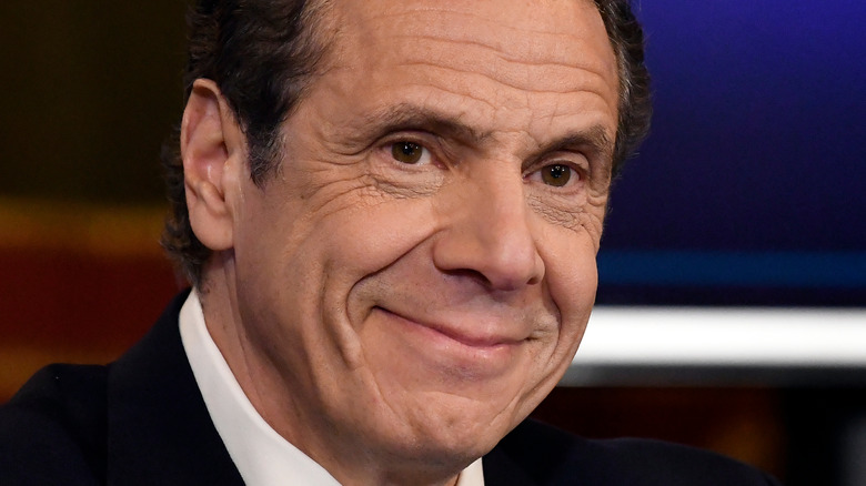 Andrew Cuomo grinning