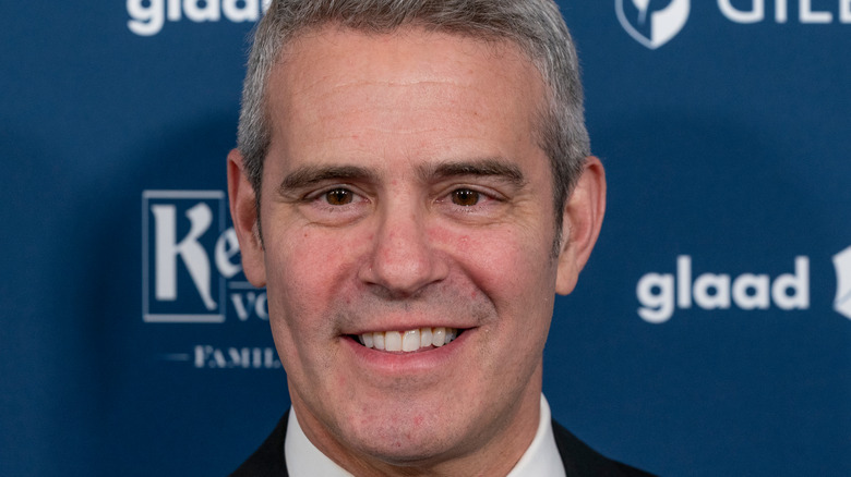 Andy Cohen on the red carpet.