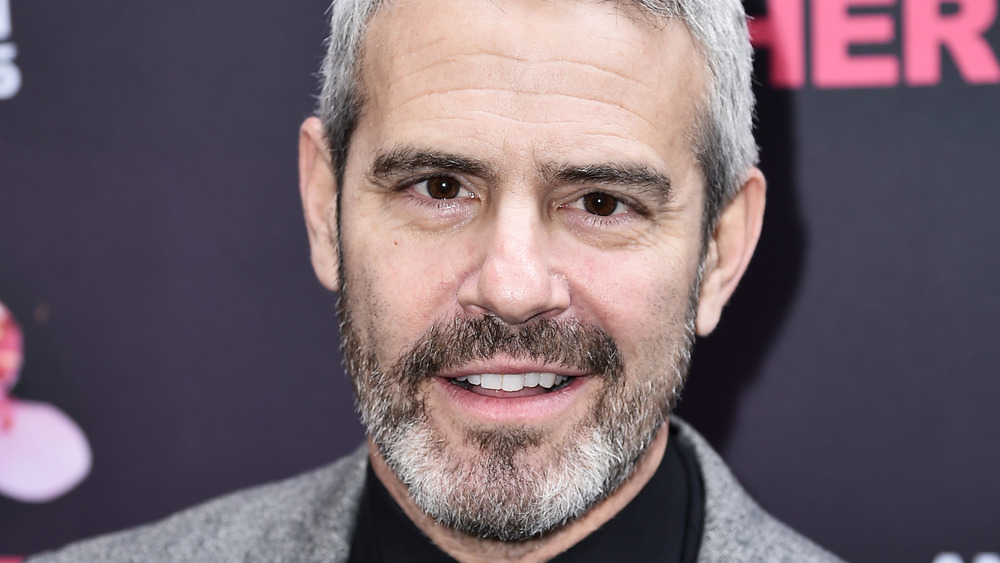 close up of Andy Cohen smiling