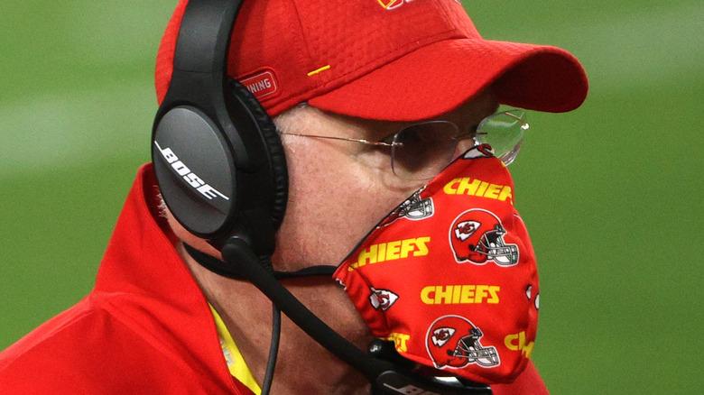 KC Chiefs coach Andy Reid