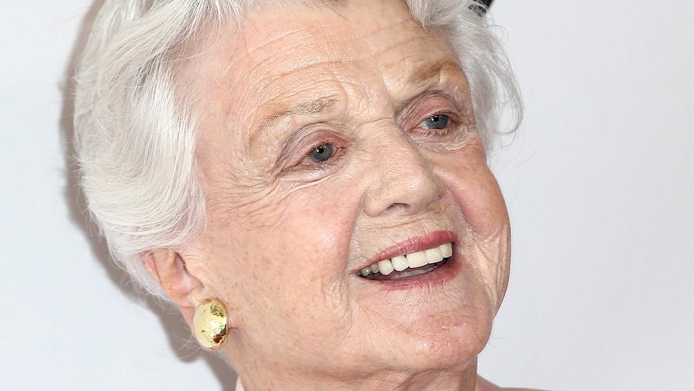 Angela Lansbury smiling