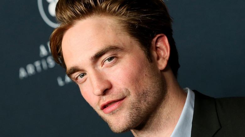 Robert Pattinson on red carpet