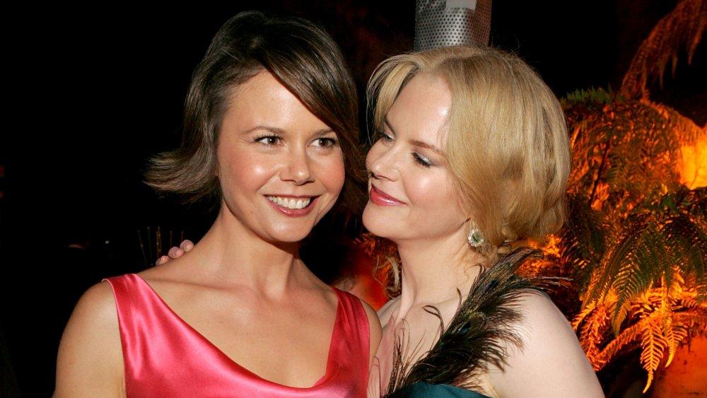 Antonia and Nicole Kidman