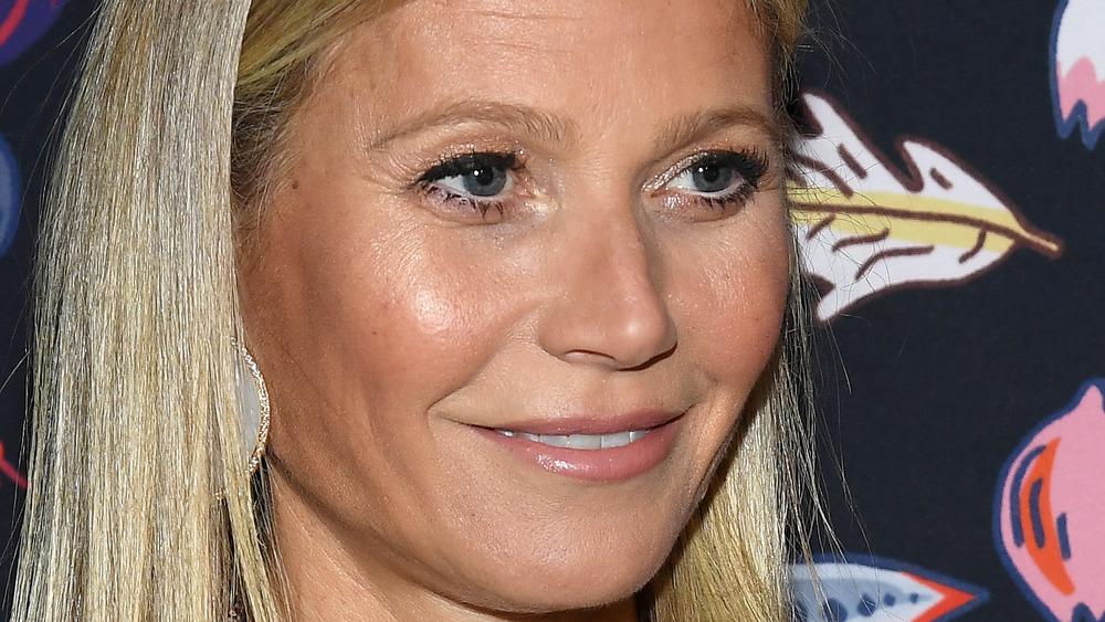 Gwyneth Paltrow smiling hair down