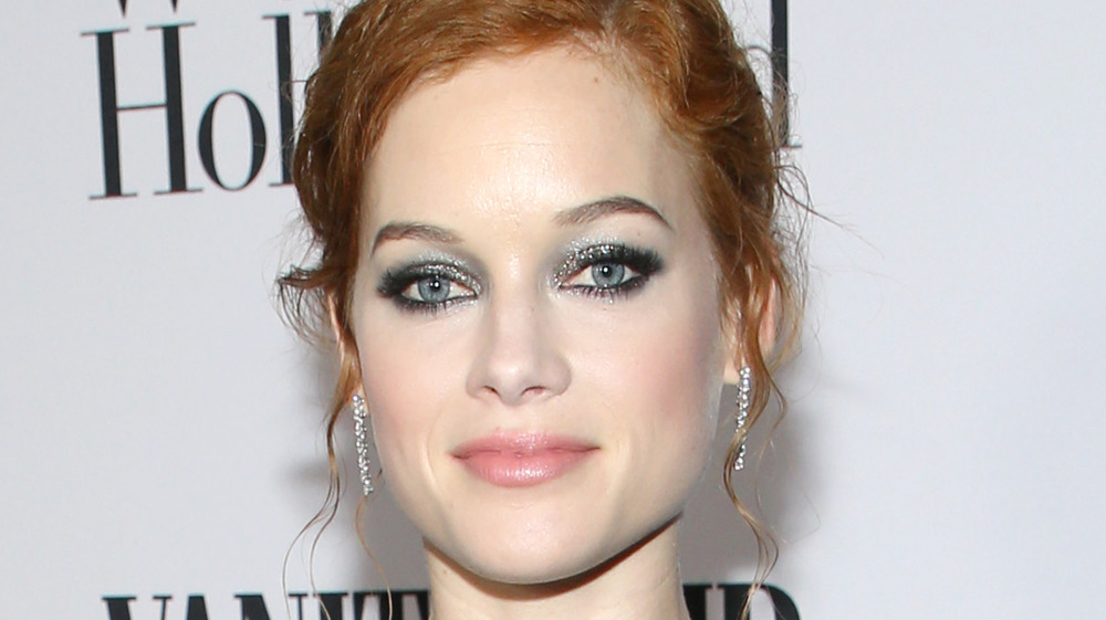 Jane Levy grinning