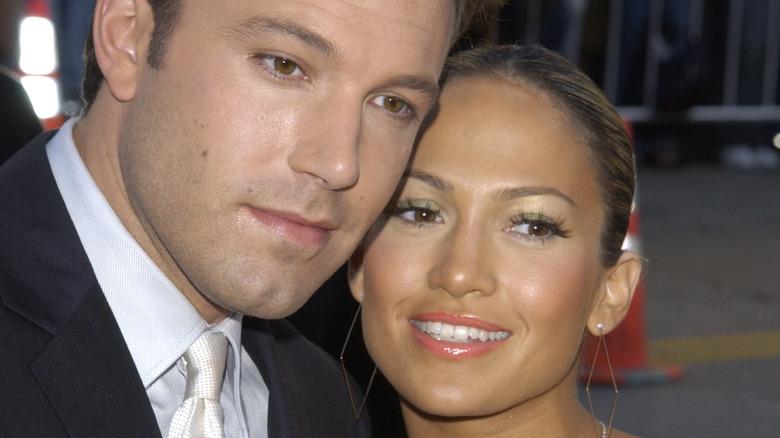 Jennifer Lopez and Ben Affleck at an event