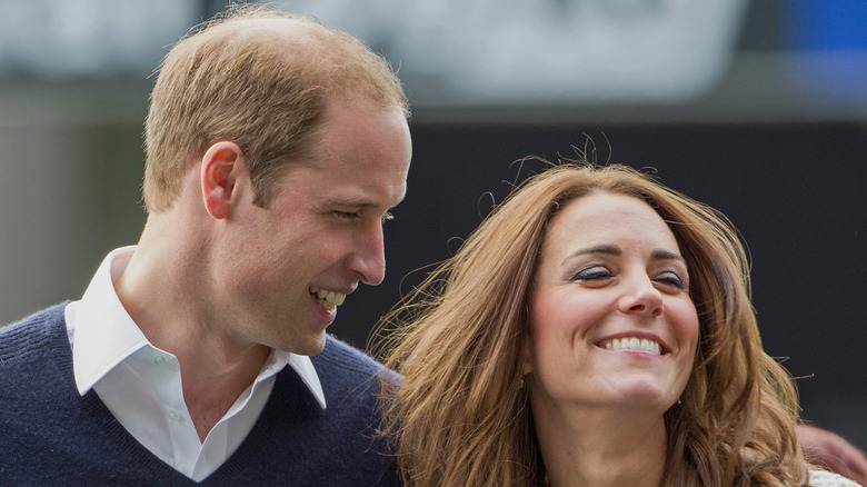 Kate Middelton and Prince William, in love