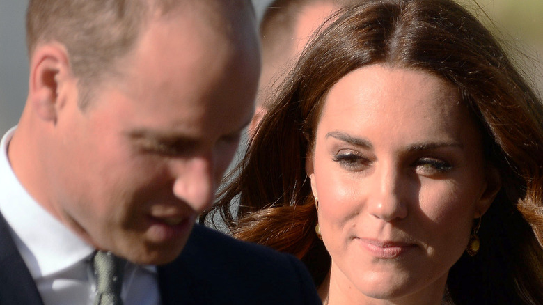 Prince William and Kate Middleton in Poland.
