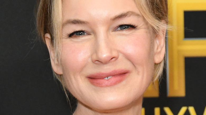 Renée Zellweger smiling