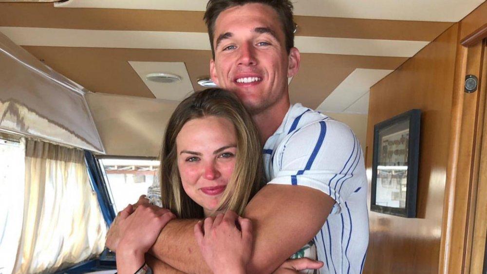 Hannah Brown and Tyler Cameron
