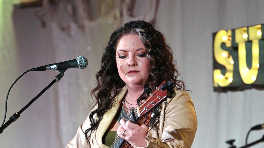 Ashley McBryde performing