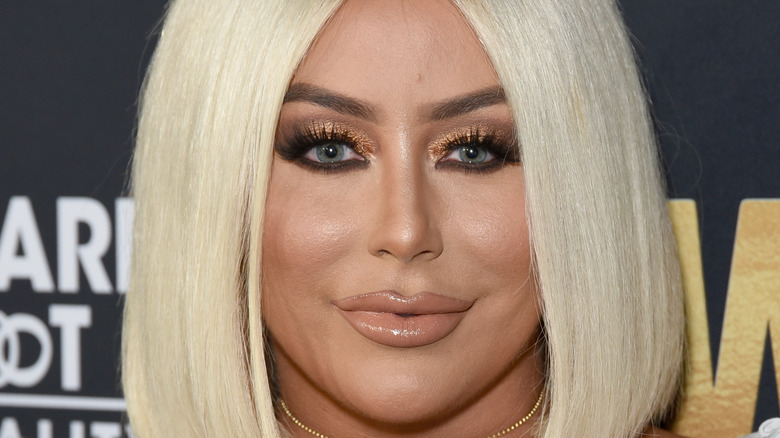 Aubrey O'Day on the red carpet