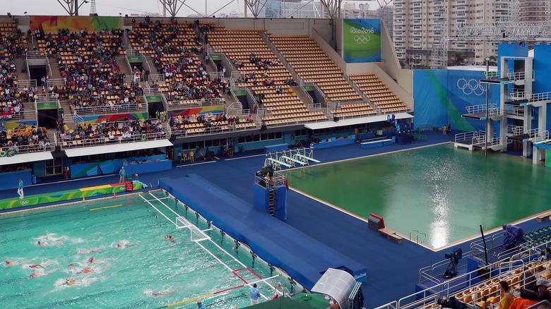 Rio Olympic swimming pools