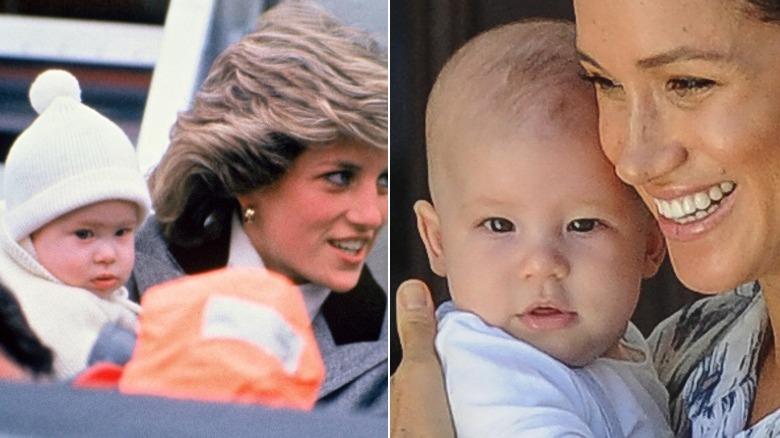 Prince Harry, Princess Diana, Meghan Markle, Archie