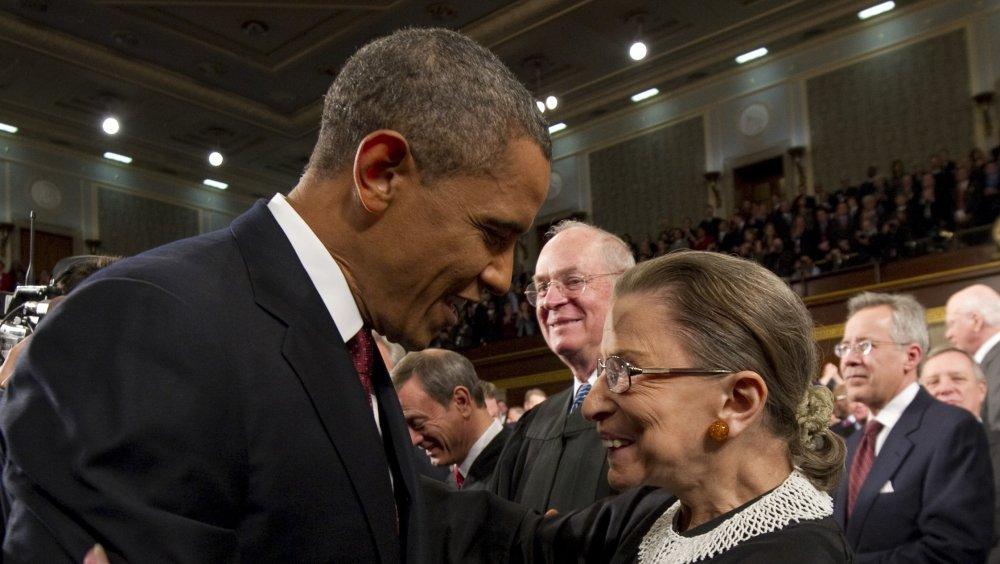 Barack Obama, Ruth Bader Ginsburg
