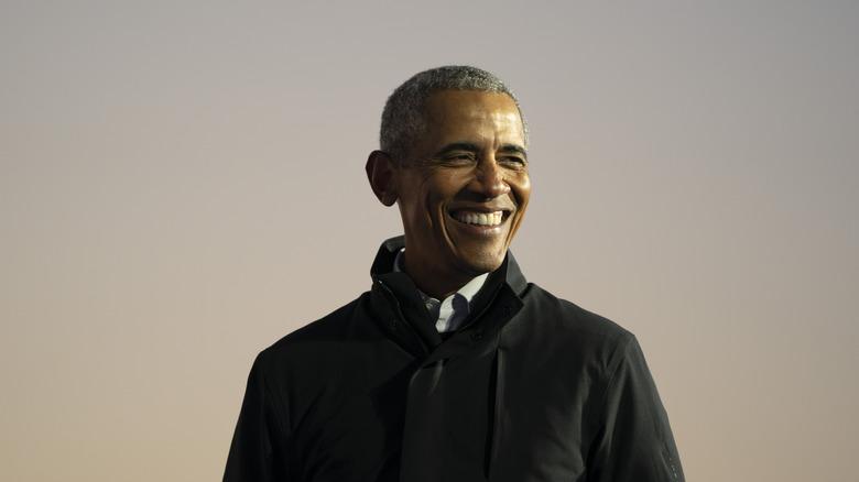 Barack Obama on the campaign trail