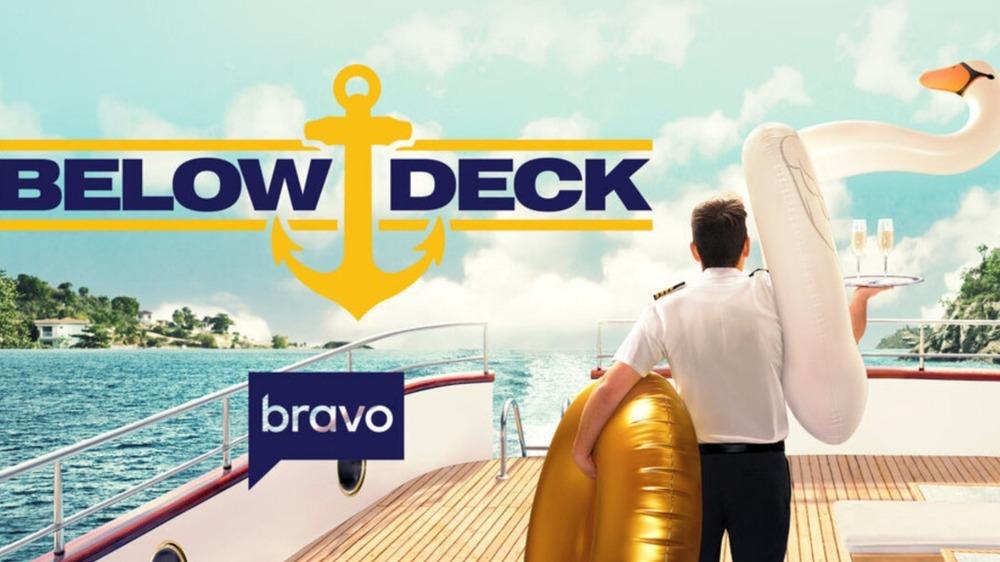 Bravo Below Deck crew working on board