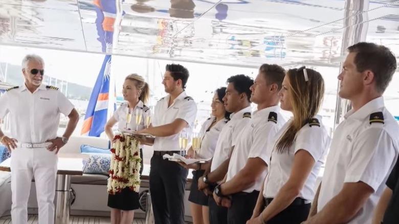 Below Deck Sailing Yacht crew