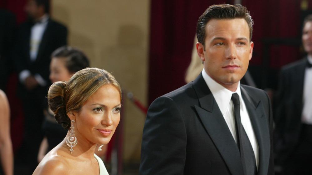 Ben Affleck and Jennifer Lopez walk the red carpet together