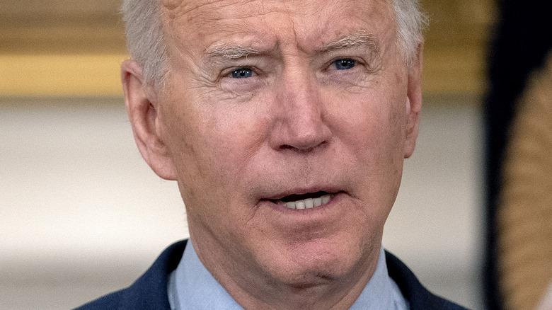 President Joe Biden March 2021