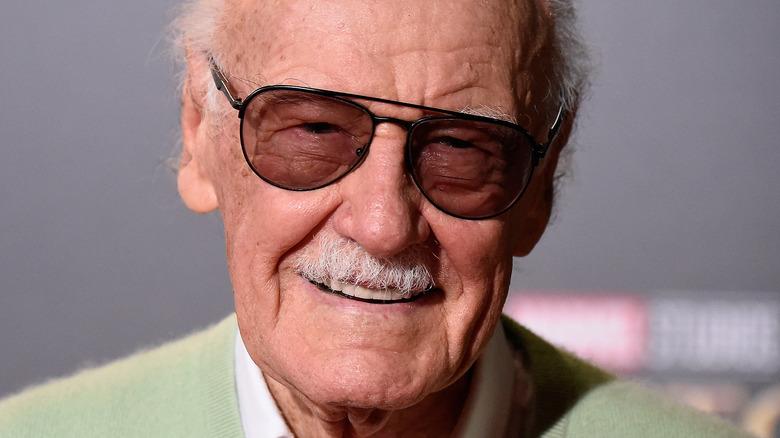 Stan Lee smiling