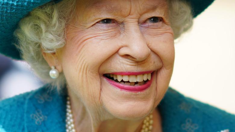 Queen Elizabeth at royal event