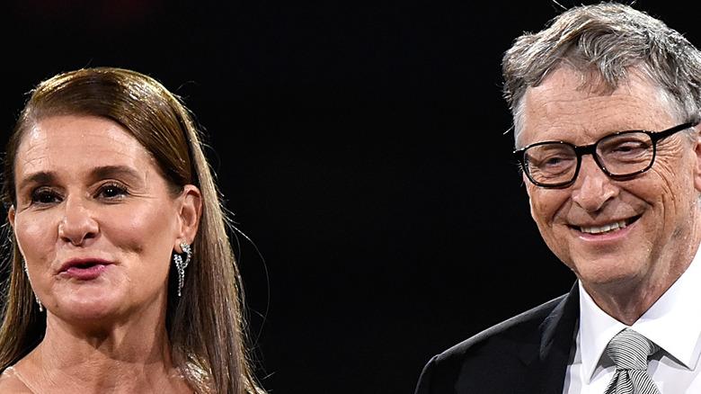 Melinda Gates, Bill Gates speaking