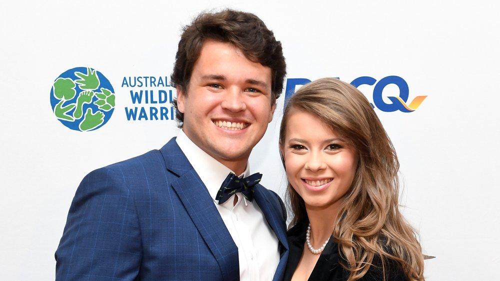 Bindi Irwin and her husband Chandler Powell