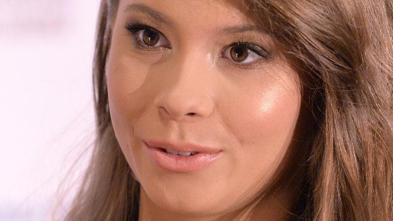 close up of Bindi Irwin